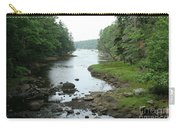 Receding Tide In Maine Part Of A Series Carry-all Pouch
