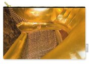 Reclining Buddha At Wat Pho, Low Angle Carry-all Pouch