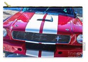 Red 1966 Mustang Shelby Carry-all Pouch