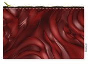 Red Abstract Texture Carry-all Pouch