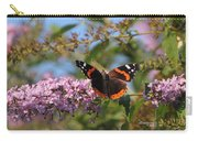 Red Admiral Butterfly Carry-all Pouch
