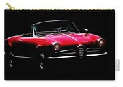 Red Alfa Romeo 1600 Giulia Spider Carry-all Pouch