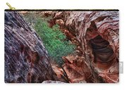Red And Green Carry-all Pouch by Rick Berk