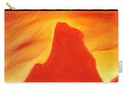 Red And Orange Carry-all Pouch