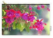 Red And Purple Fuchsias Carry-all Pouch
