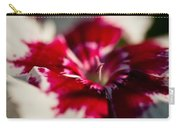 Red And White Dianthus Carry-all Pouch