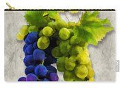 Red And White Grapes Carry-all Pouch