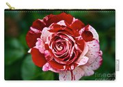 Red And White Rose Carry-all Pouch