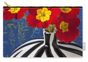 Red And Yellow Primrose Carry-all Pouch