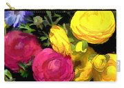 Red And Yellow Ranunculus Flowers Carry-all Pouch