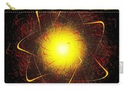 Red And Yellow Star Carry-all Pouch