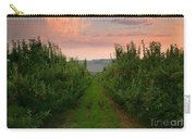 Red Apple Sunset Carry-all Pouch by Mike  Dawson