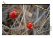 Red Asparagus Berries Carry-all Pouch