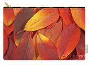 Red Autumn Leaves Pile Carry-all Pouch