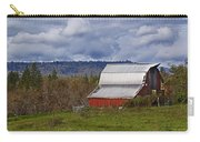 Red Barn With Tin Roof Carry-all Pouch