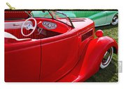 Red Beautiful Car Carry-all Pouch