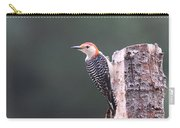 Red-bellied Woodpecker - Looking For Food Carry-all Pouch