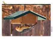Red-bellied Woodpecker At Lunch Carry-all Pouch