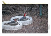 Red Bellied Woodpeckers Male And Female Carry-all Pouch