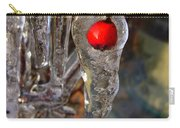 Red Berry In Icicle Carry-all Pouch