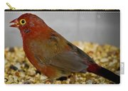 Red Billed Fire Finch Carry-all Pouch