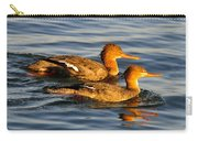 Red Breasted Mergansers Carry-all Pouch