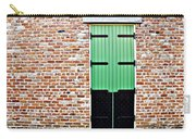 Red Bricks, Green Door Carry-all Pouch