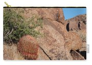 Red Cactus Rock Carry-all Pouch