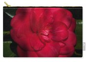 Red Camelia Carry-all Pouch