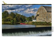 Red Canoes At The Boathouse Carry-all Pouch by Paul Ward