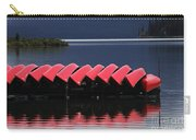 Red Canoes Maligne Lake Carry-all Pouch