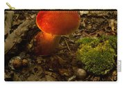 Red Caped Mushroom 4 Carry-all Pouch