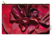 Red Carnation With Heart Carry-all Pouch