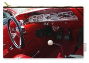 Red Chevy Impala Carry-all Pouch