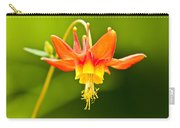 Red Columbine Carry-all Pouch