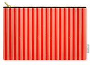 Red Corrugated Metal Carry-all Pouch