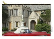 Red Corvette Outside The Playboy Mansion Carry-all Pouch