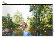 Red Covered Bridge Carry-all Pouch