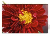 Red Dahlia Unfurled Carry-all Pouch