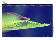 Red Damselfly Carry-all Pouch