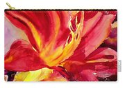 Red Day Lily Carry-all Pouch