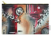 Red Divinity By Madart Carry-all Pouch
