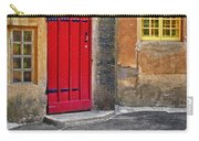Red Door And Yellow Windows Carry-all Pouch