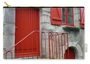Red Door In Laroche Bernard Carry-all Pouch