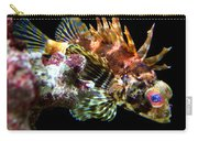 Red Eyed Scorpion Fish Carry-all Pouch