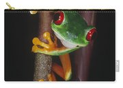 Red-eyed Tree Frog Agalychnis Callidryas Carry-all Pouch