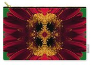 Red Flower Art Carry-all Pouch