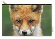 Red Fox Vulpes Vulpes, Hoge Veluwe Carry-all Pouch