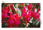 Red Fuchsias Carry-all Pouch
