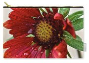 Red Gaillardia Carry-all Pouch